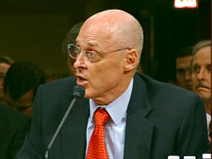 A picture of Henry Paulson.