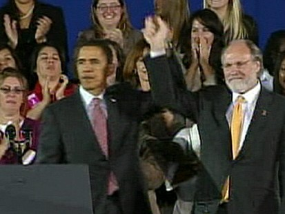 VIDEO: Obama Rallies for Gov. Corzine in N.J.; Dems Hope Win There Will Offset Expected Virginia Loss