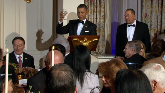 VIDEO: White House honored Chinas President Hu Jintao with a U.S. state dinner.
