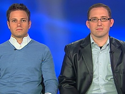 VIDEO: Coworkers Chris Wood and Jim McNulty detail how they escaped the gunman.
