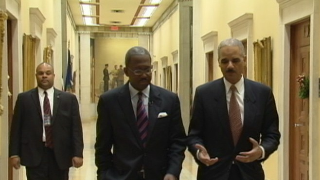 VIDEO: Attorney General Eric Holder says threat has shifted from foreign to homegrown.