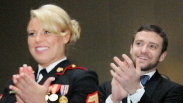 VIDEO: Marine Discusses Date With Justin Timberlake