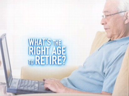 VIDEO: What is the right age for you to retire?