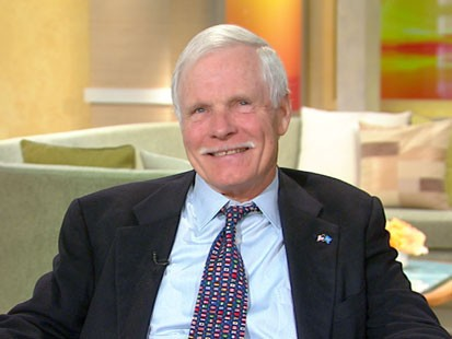 A picture of Ted Turner.