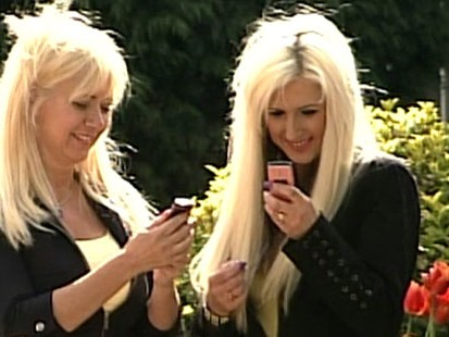 VIDEO: A mother in England undergoes plastic surgery to look like her daughter.
