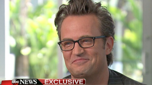 Matthew Perry Interview 2013 Friends Star Says He Was Pretty Good At Hiding Addiction Video Abc News