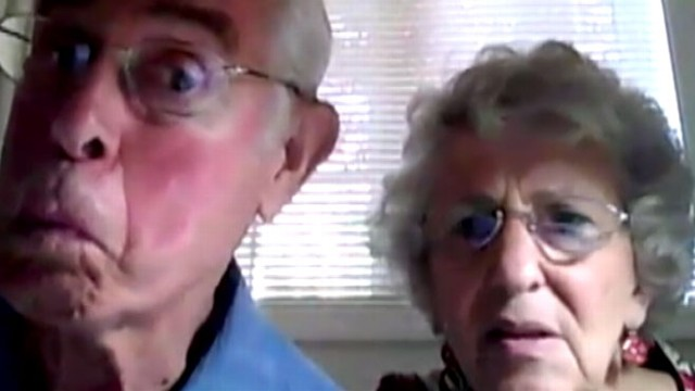 Elderly Couple Esther And Bruce Huffman Chat About Viral Webcam