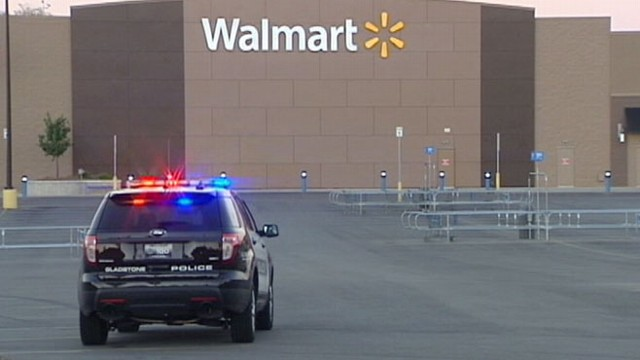 VIDEO: Bomb threats caused police to evacuate the Midwest superstores.