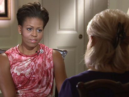 VIDEO: Barbara Walters catches up with the first lady discussing her yearlong journey.