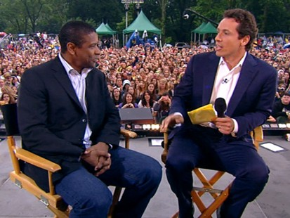 """VIDEO: Denzel Washington on his new role in """"The Taking of Pelham 123."""""""