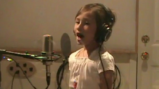 VIDEO: 8-Year-Old Rhema Marvanne is a Singing Sensation