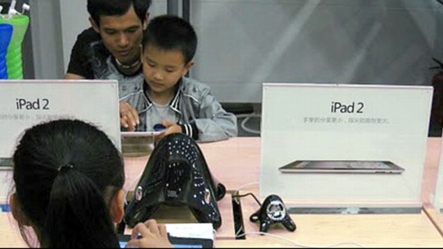VIDEO: Unofficial retail locations may or may not have real Apple products.