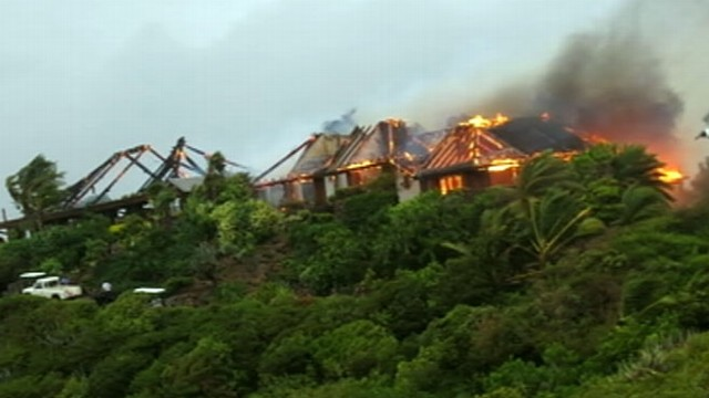 VIDEO: When billionaires island home caught fire, Kate Winslet saved his mother.