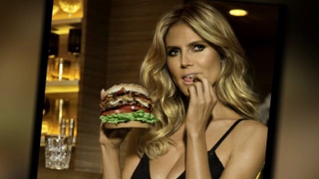 Heidi Klum Carl's Jr. Commercial Spoofs 'The Graduate ...