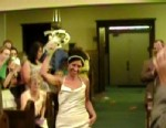VIDEO: Jill and Kevin Heinz choreographed a dance for their walk down the aisle.