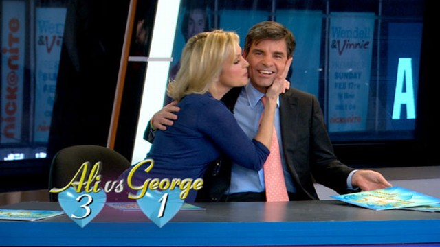 Ali Wentworth George Stephanopoulos Not So Newlywed Game Video