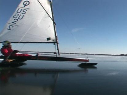 VIDEO: Sailing on Ice