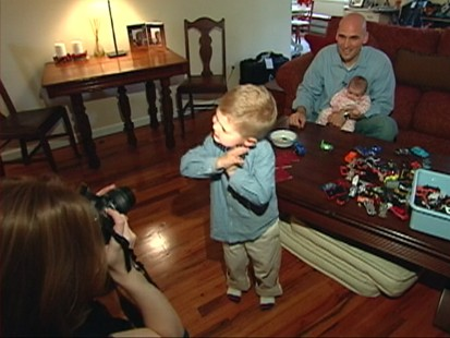 VIDEO: Becky Worley helps one family get their 22,000 digital photos organized.