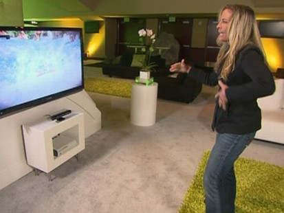 VIDEO: New software allows users to direct the Xbox with their body movements.