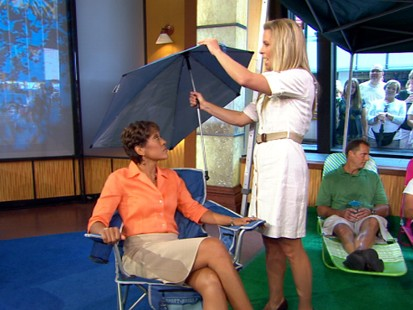 VIDEO: Stay cool with everything from an ice cream machine to an umbrella chair.