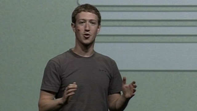 VIDEO: Mark Zuckerberg announces big changes to Facebook amid competition from Google.