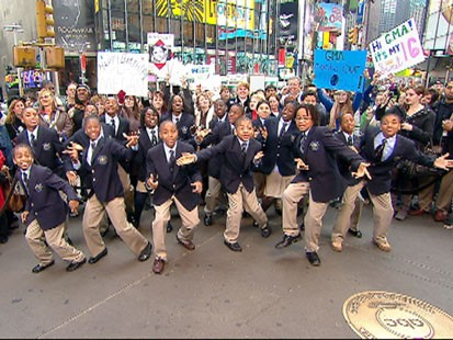 A picture of the students of the Ron Clark Academy.