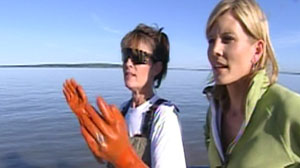 Kate Snow with Sarah Palin