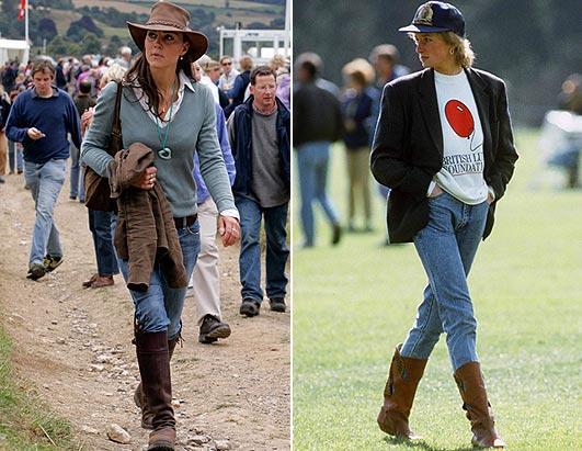 Princess Diana And Kate Middleton Photos Abc News