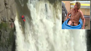 Extreme Kayakers World Record Plunge
