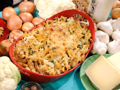 rachael ray s cauliflower mac n cheese recipe abc news
