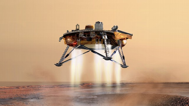 mars rover landing interview - photo #14