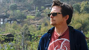 "Photo: ""Michael J. Fox: Adventures of an Incurable Optimist,"""