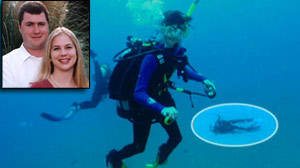 Gabe and Tina Watson. Scuba Diving accident