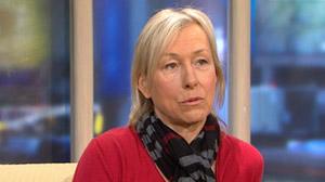 Martina Navratilova Fighting Breast Cancer
