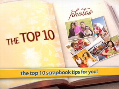 VIDEO: Get the top 10 tips for creating your own scrapbook.