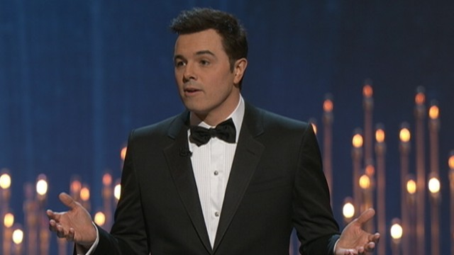 VIDEO: Seth MacFarlane's humor drew a mixed response from the Oscars audience at times.