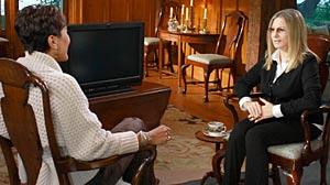 PHOTO: Robin Roberts? interview with Barbra Streisand