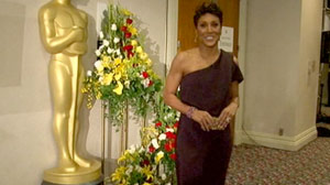 Which Oscars Dress Did Robin Roberts Choose?