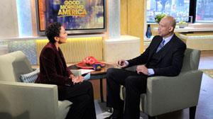 Kareem Abdul-Jabbar with Robin Roberts