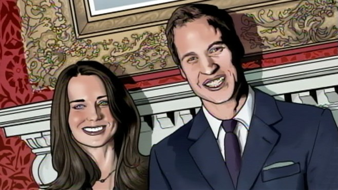 VIDEO: A numerical guide to Prince Williams and Kate Middletons nuptials.