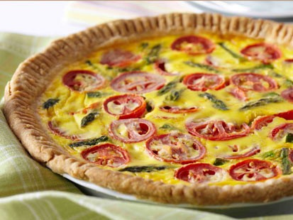 PHOTO Tomato Asparagus Quiche