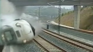 Spain Train Derailment Video 2013: Accident is One Of Worst in