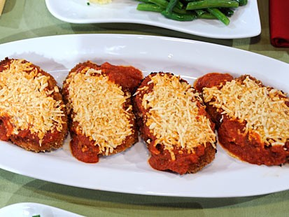 Vegan chicken parmesan recipe abc news vegan chicken parmesan forumfinder Choice Image