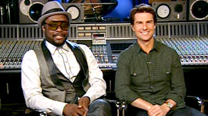 Tom Cruise, Black-Eyed Peas Team Up in New Movie