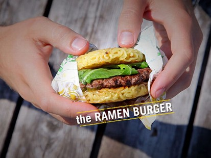 VIDEO: The Ramen Burger