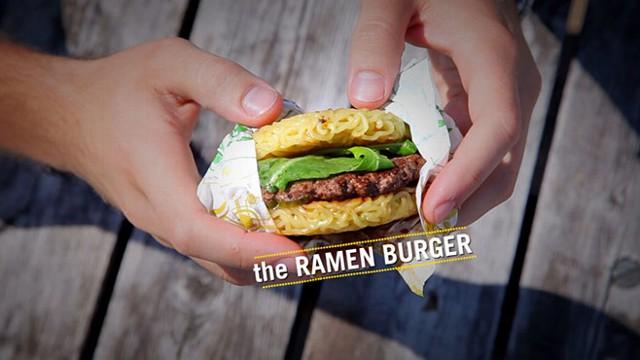 VIDEO: The Ramen Burger