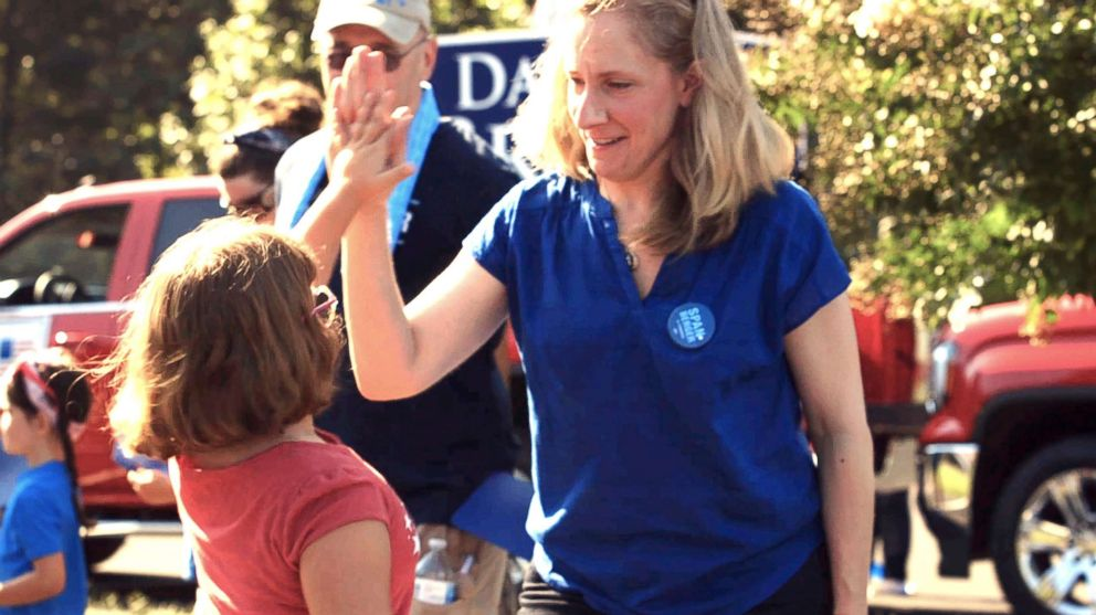 PHOTO: Abigail Spanberger, a congressional candidate, had a 12-year career with the CIA.
