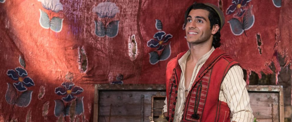 "PHOTO: Mena Massoud in a scene from ""Aladdin."""