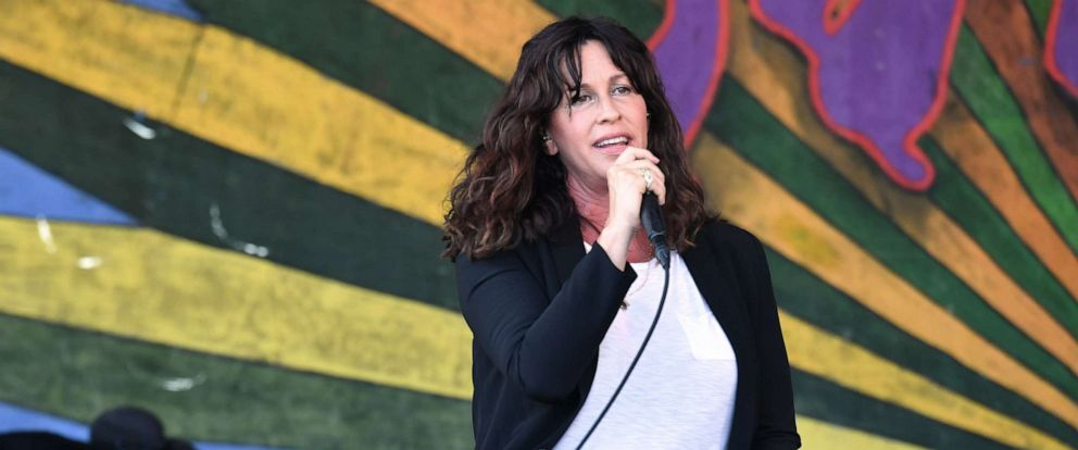 PHOTO: Alanis Morissette performs during the New Orleans Jazz and Heritage Festival, April 25, 2019 in New Orleans.