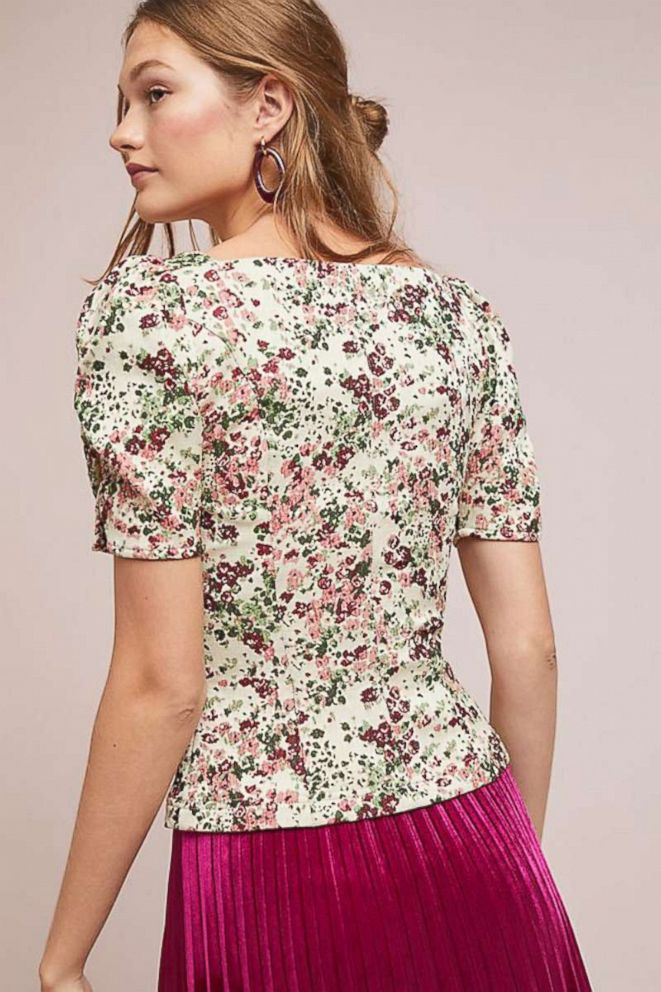 PHOTO: Anthropologie Alchemy Fitted Blouse